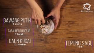 Resep Menu Buka Puasa Tahu Crispy Tabur Bawang