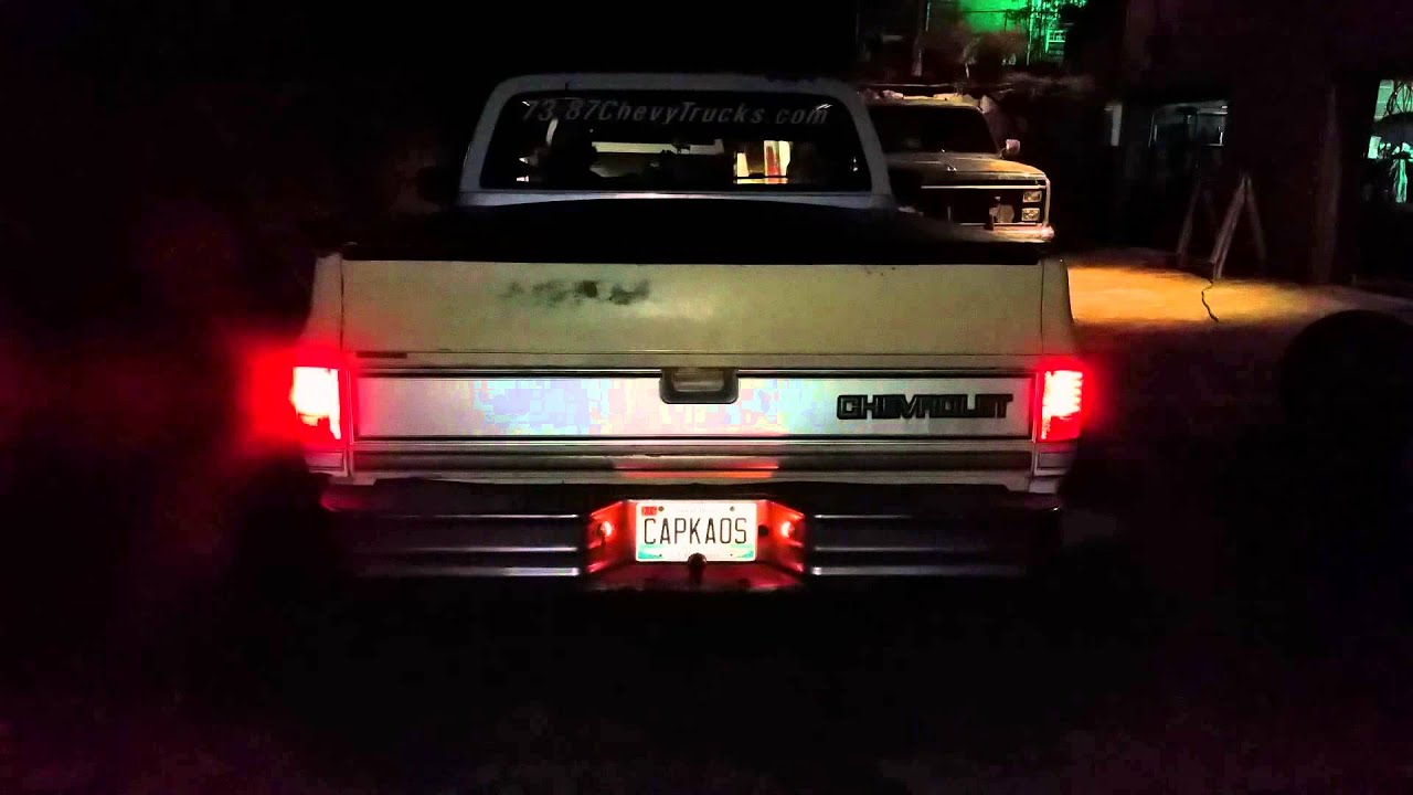 hight resolution of 73 87chevytrucks com led tails by technostalgia
