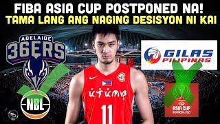 Breaking: FIBA Asia Cup Postponed na!   Kai Sotto bumabang muli ang ranking sa 2022 NBA Mock Draft