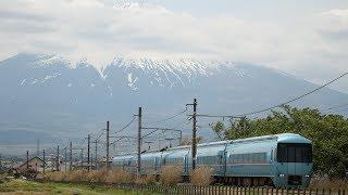 中部シリーズ⑨御殿場線 富士山をバックに走る特急「ふじさん」