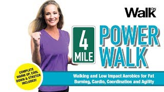 Walk On: 4-Mile Power Walk Preview - This 74-Minute Program is Now Available on DVD and digital!
