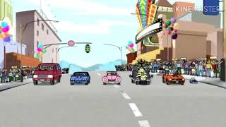 TOM AND JERRY CAR RACING IN I AM RIDER SONG