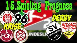 15.Spieltag 2.Liga Prognose + Tipps / Derby in Sandhausen + Krisenduelle in Nürnberg und St.Pauli