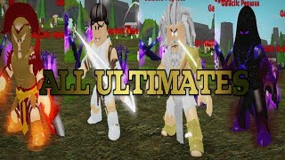 All Ultimate God Abilities! - God Simulator / Roblox