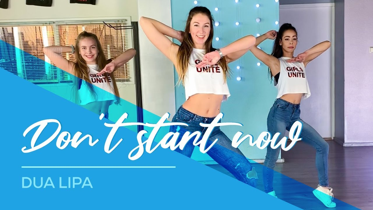 Dua Lipa - Don't Start Now - Easy Fitness Dance Video - Choreography - Coreografia