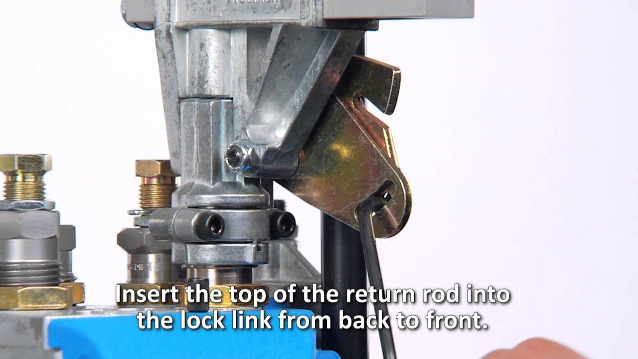 Adjusting the Fail Safe Return Rod on the Dillon Powder Measures