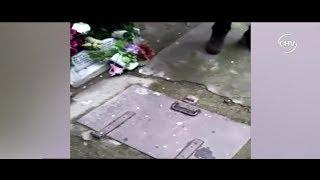 Familia encontró bolsa de basura con restos humanos en cementerio | CHV NOTICIAS