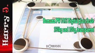 весы Bomann PW 1417 обзор