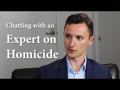 Chatting with an Expert on Homicide
