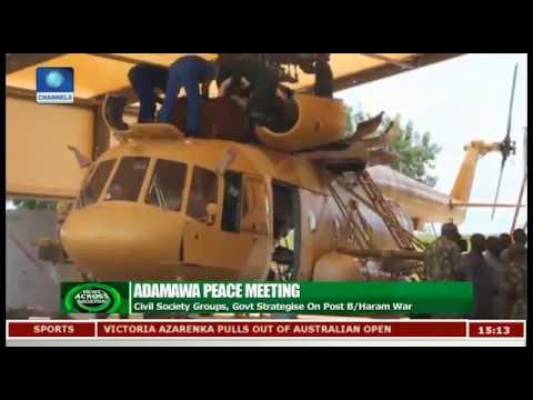 Civil Society Groups, Adamawa Govt Strategise On Post Boko Haram War