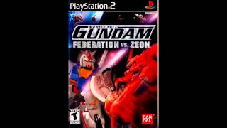 Main Menu - Mobile Suit Gundam: Federation vs. Zeon (Soundtrack)