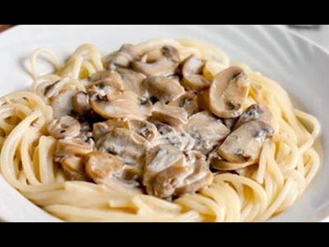 как приготовить грибной соус к спагетти