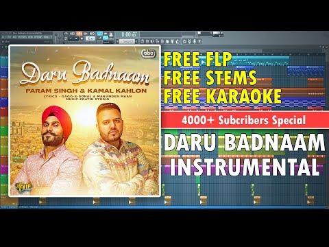 Daru Badnaam (Instrumental) | Kamal Kahlon & Param Singh | Dr