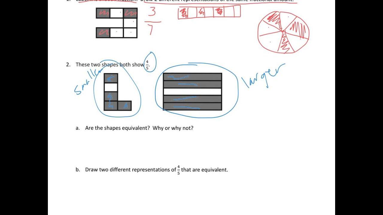 Grade 3 Module 5 Lesson 20 Homework