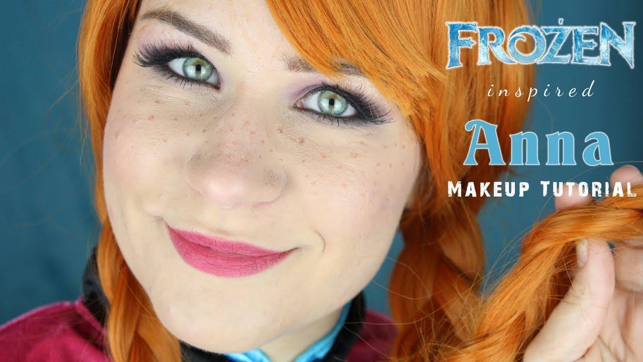 Disneys frozen anna makeup tutorial deutsch lilixy mee youtube disneys frozen anna makeup tutorial deutsch lilixy mee baditri Image collections