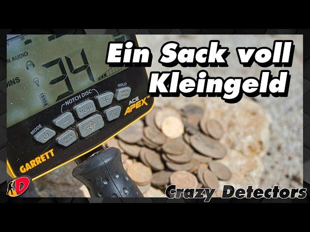 Der Münzsauger / Garrett ACE APEX Ripper / Sondeln im verschrottetem Bad.