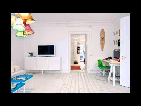 Дизайн двухкомнатной квартиры. Находится в Швеции. (фото 2015)