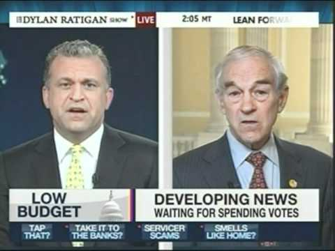 Ron Paul Interview On The Dylan Ratigan Show Today