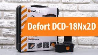 Розпакування шуруповерта Defort DCD-18Nx2D / Unboxing Defort DCD-18Nx2D