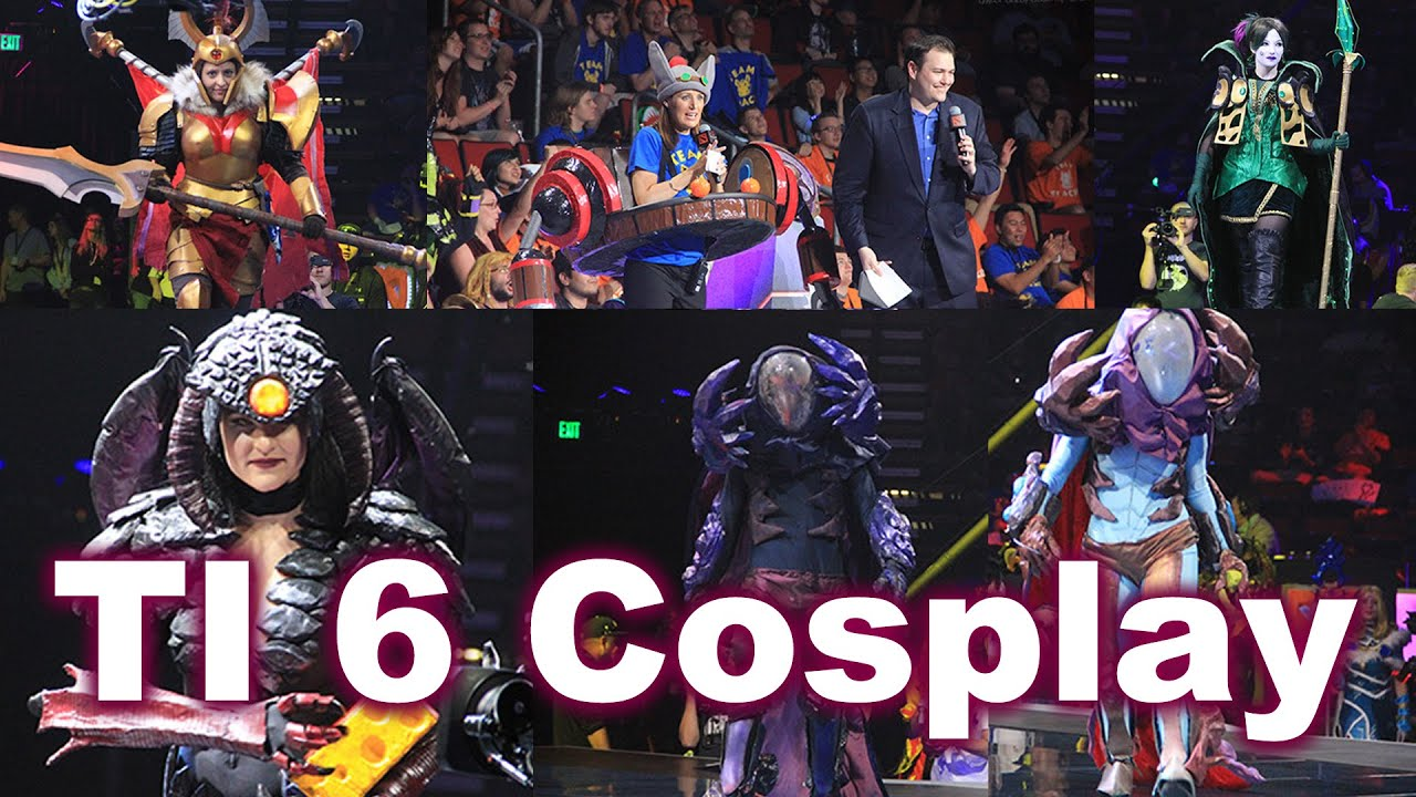 The International  Cosplay Competition Dota