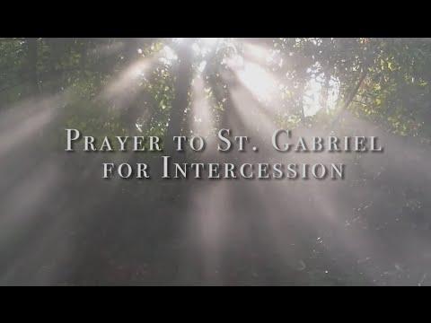Prayer to St. Gabriel for Intercession HD