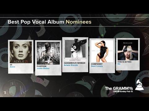 Best Pop Vocal Album Nominees | The 59th GRAMMYs