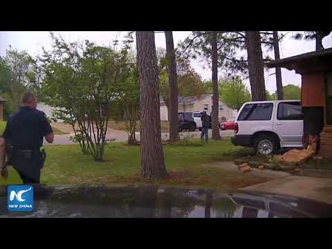 Dramatic moment of Texas house explosion caught on dashcam
