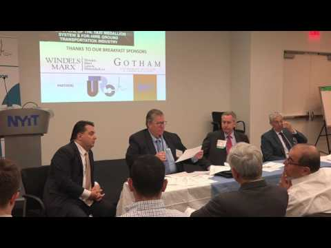 Panel 1 - Summit on The Future of the Taxi Medallion System