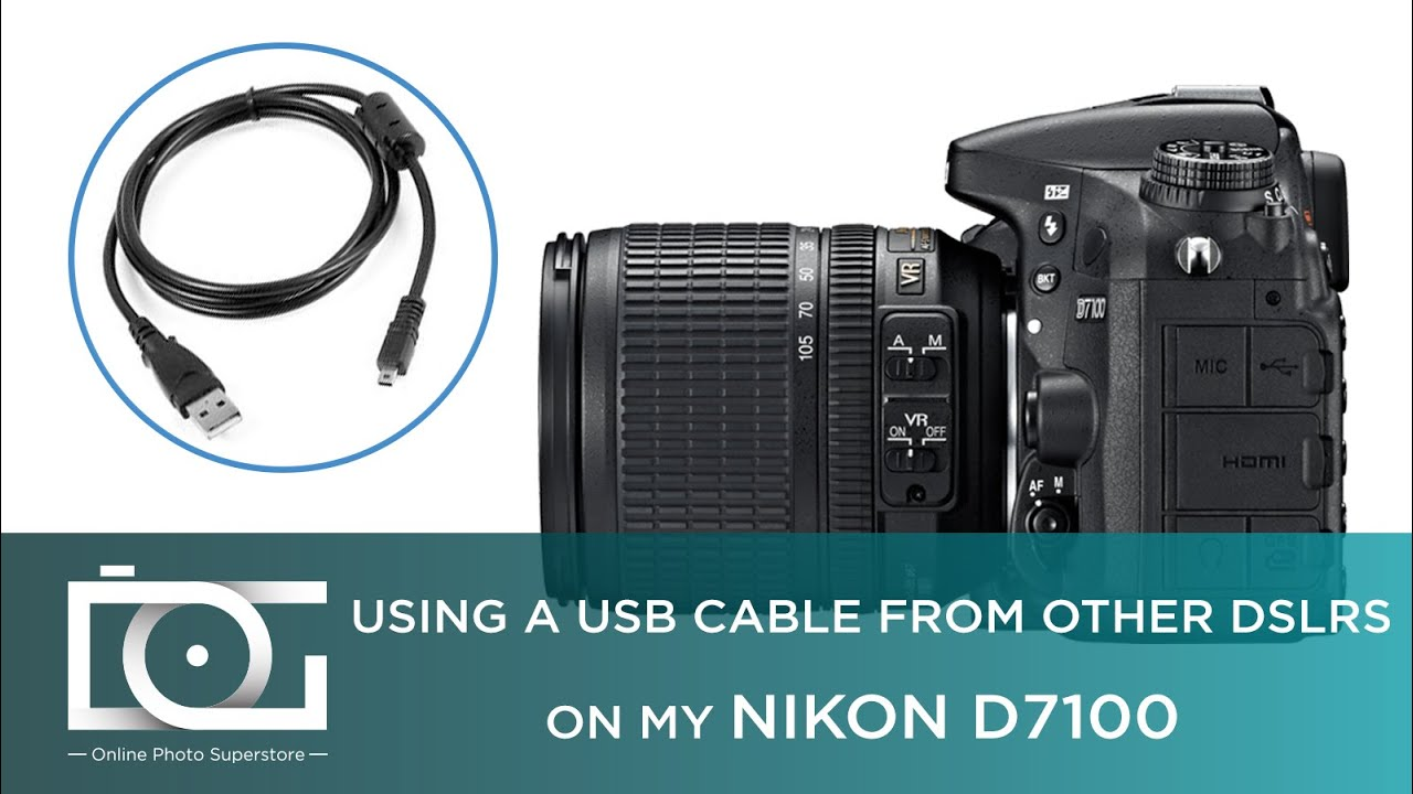 nikon d7100 usbcable [ 1280 x 720 Pixel ]