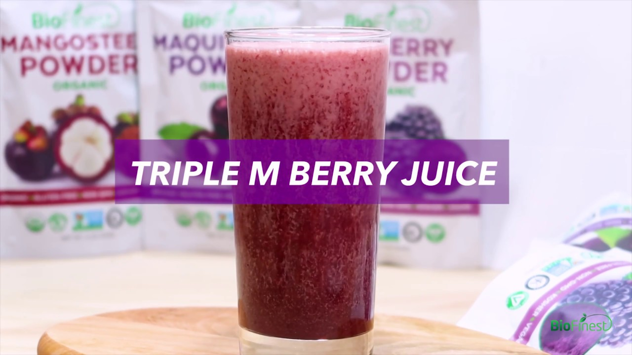 How To Make 3m Berry Juice 100 Healthy Diy Recipe With