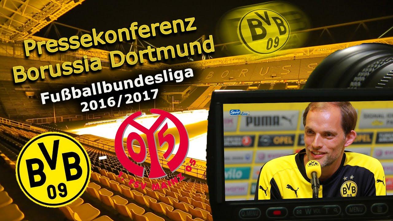 Borussia Dortmund - 1. FSV Mainz 05: Pk mit Thomas Tuchel zum Start der Bundesliga-Saison