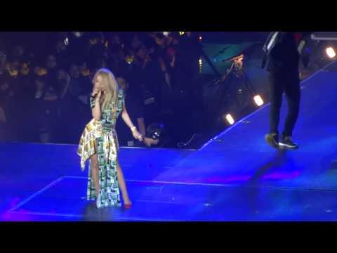 YG Family Concert in Singapore 2014 - CL (2NE1) + Gdragon (Bigbang) - baddest female / oppa + MTBD