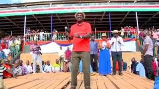 Raila Odinga Dancing Kwangwaru
