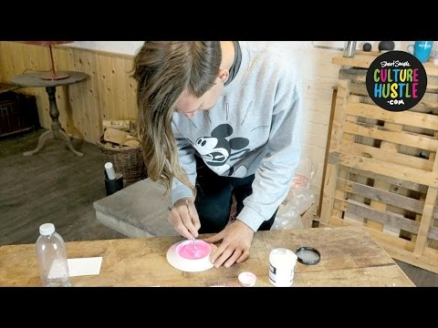 How to use my powder paints