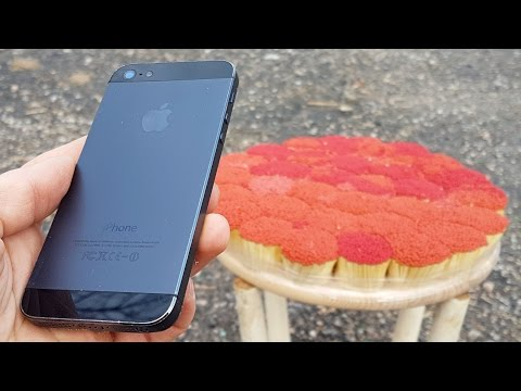 Thumbnail: EXPLOSIVE TEST iPhone 5 vs 20 000 MATCHES
