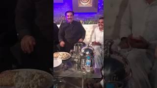 Pk run mureed with Pakistani Defence Minister Khuram Dastgeer