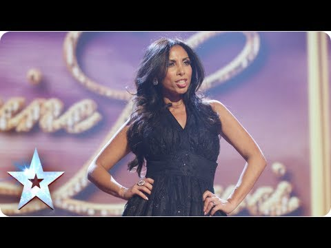Glamour girl! Francine Lewis is Katie Price and more | Final 2013 | Britain's Got Talent 2013