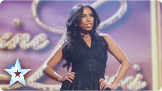 Video Glamour girl! Francine Lewis is Katie Price and more | Final 2013 | Britain's Got Talent 2013 download MP3, 3GP, MP4, WEBM, AVI, FLV Agustus 2017