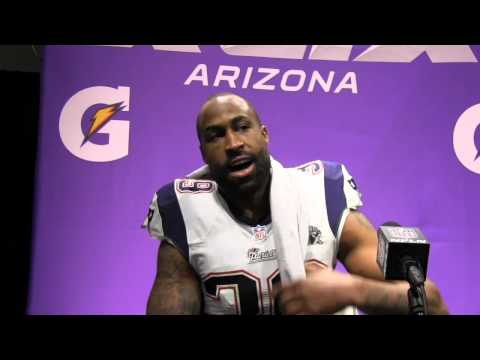 Brandon Browner Is Fired Up After Patriots Super Bowl Win