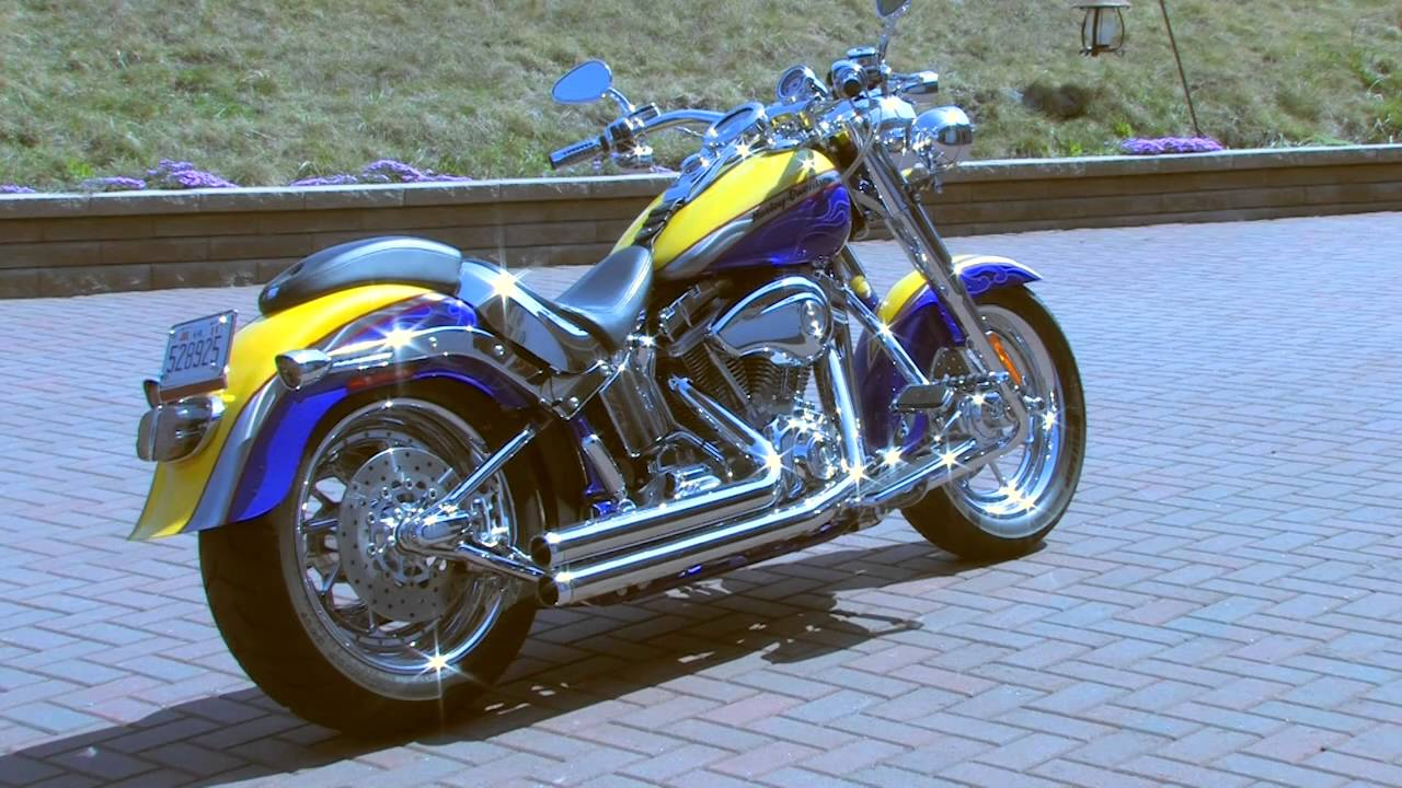 2006 Harley Fat Boy Cvo Screaming Eagle With Rienhart Exhaust