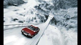 Audi 100 | Рекламная кампания «Лыжный трамплин», 1986 год