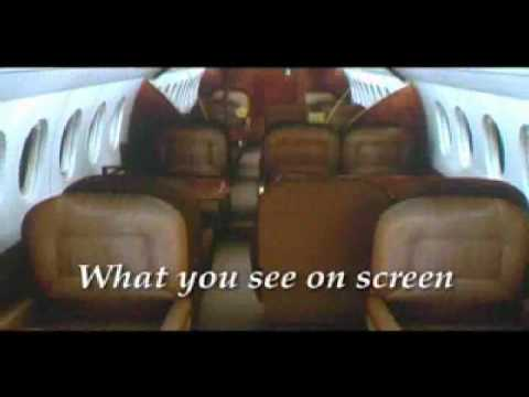 Business VIP Jet Charter Dassault Falcon Jet - Official Video