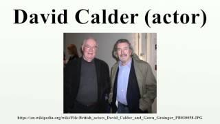 David Calder (actor)