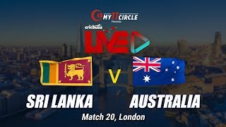 Cricbuzz LIVE: Match 20, Sri Lanka v Australia, Pre-match show