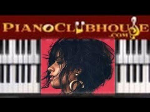 "🎹 How to play ""HAVANA"" by Camila Cabello (easy piano tutorial lesson)"