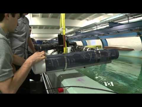 Robot Locates Unexploded Underwater Mines
