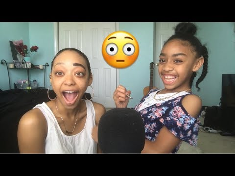 ASMR | My Little Sister Does My Makeup + SPECIAL ANNOUNCEMENT