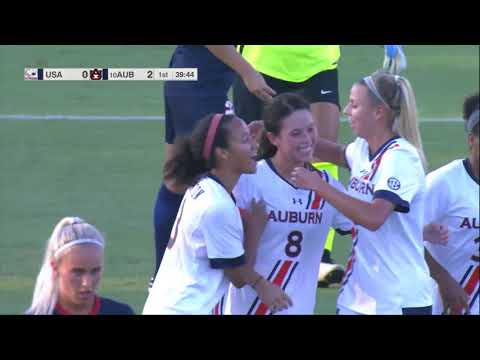 Auburn soccer defeats South Alabama 3-0