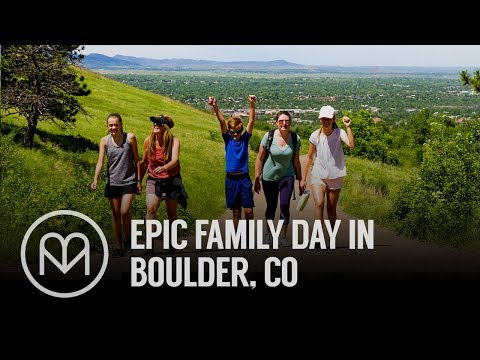 Epic Family Day in Boulder