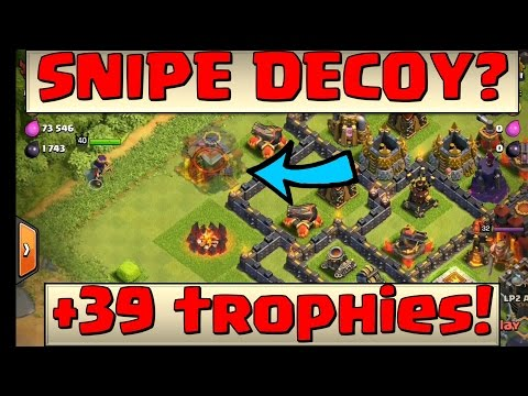 Clash of Clans - Town Hall Cloaking device??